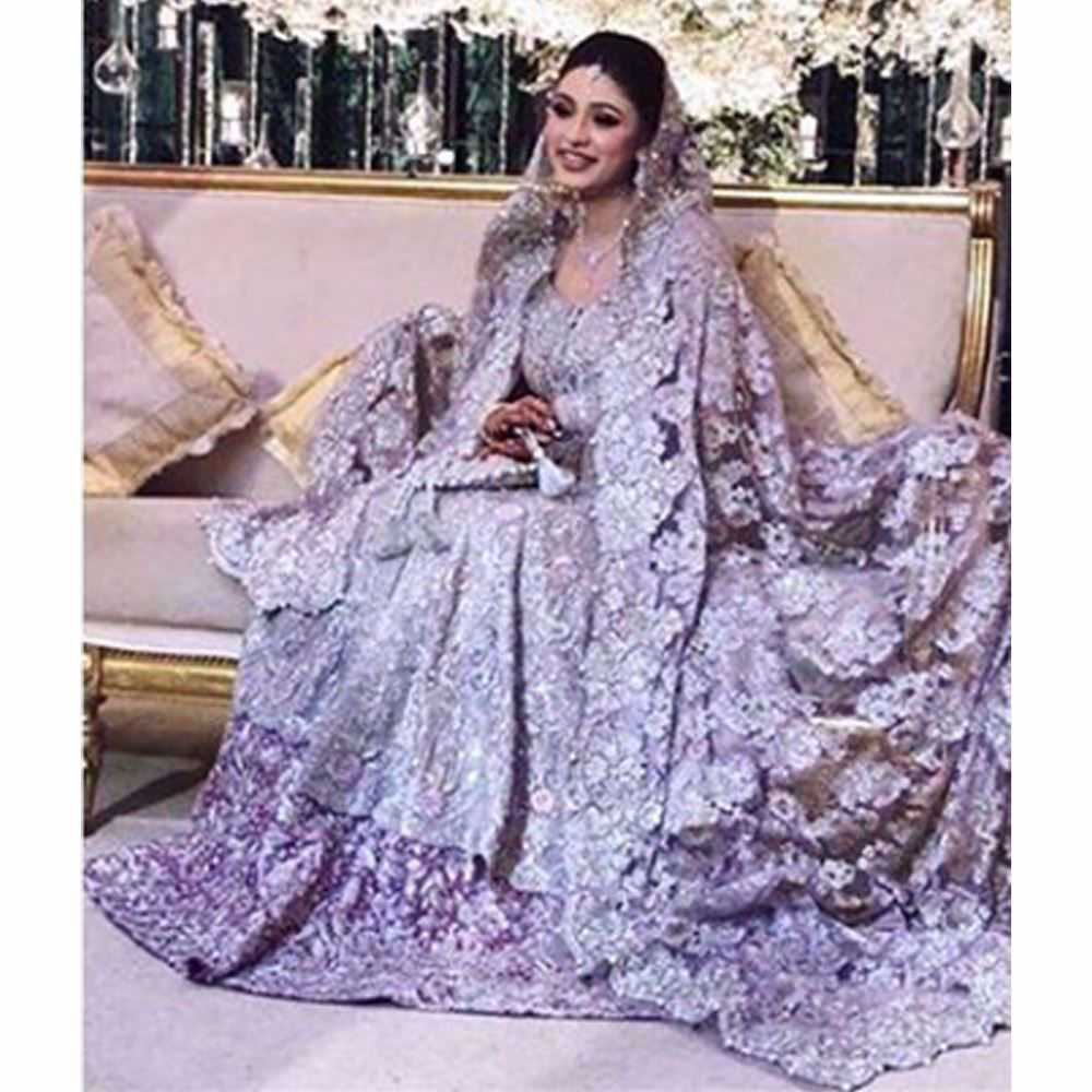 Picture of How gorgeous is Sharmeen in a Farah Talib Aziz Bridal