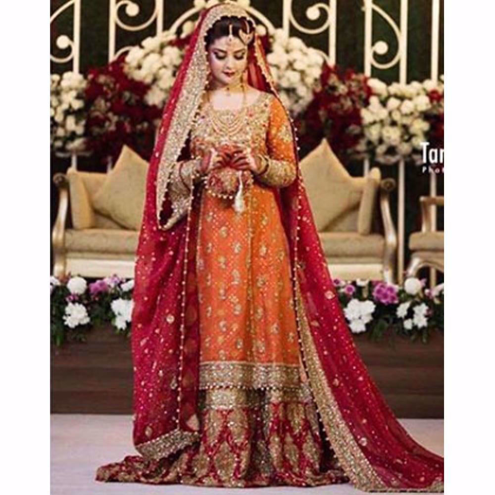 Picture of Old world charm of traditional bridals