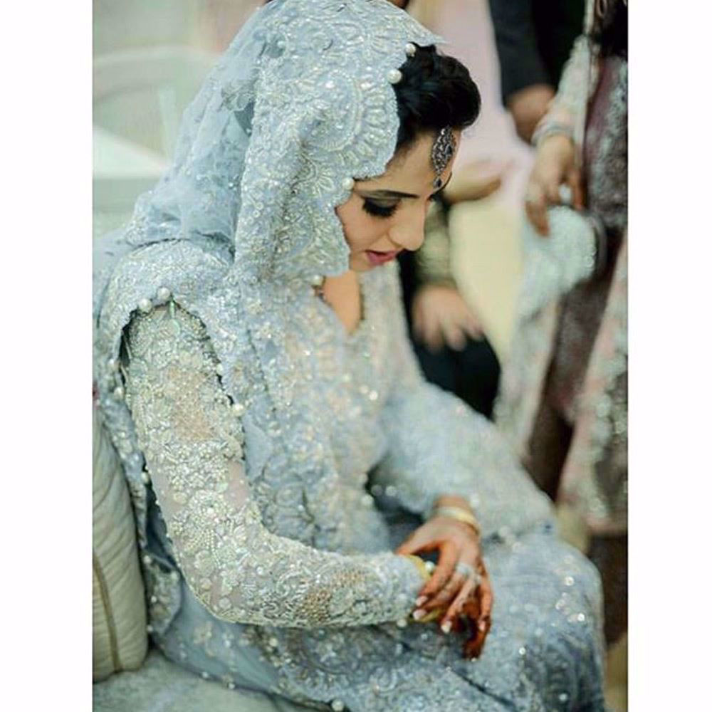 Picture of Mid week blues with shimmering Farah Talib Aziz Brides