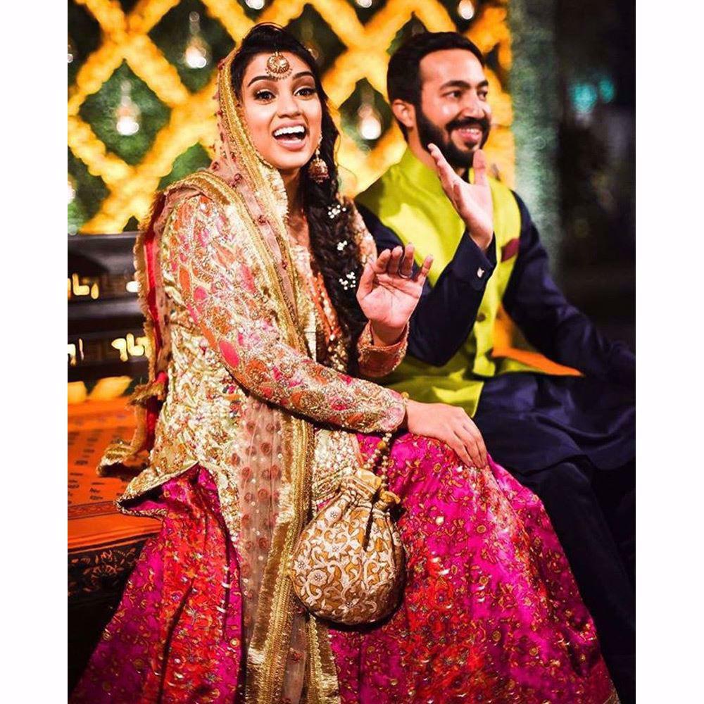 Picture of Farah Talib Aziz festive mehndi bridals